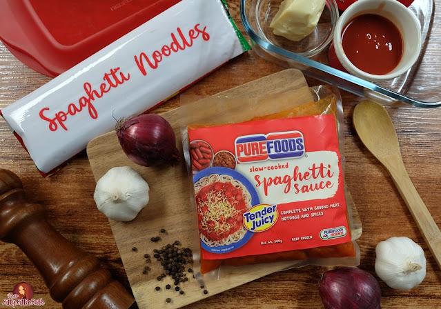 Good Food and Bonding with Purefoods Spaghetti Sauce w / the # 1 TJ Hotdog   Querida Kitty Kittie Kath 2