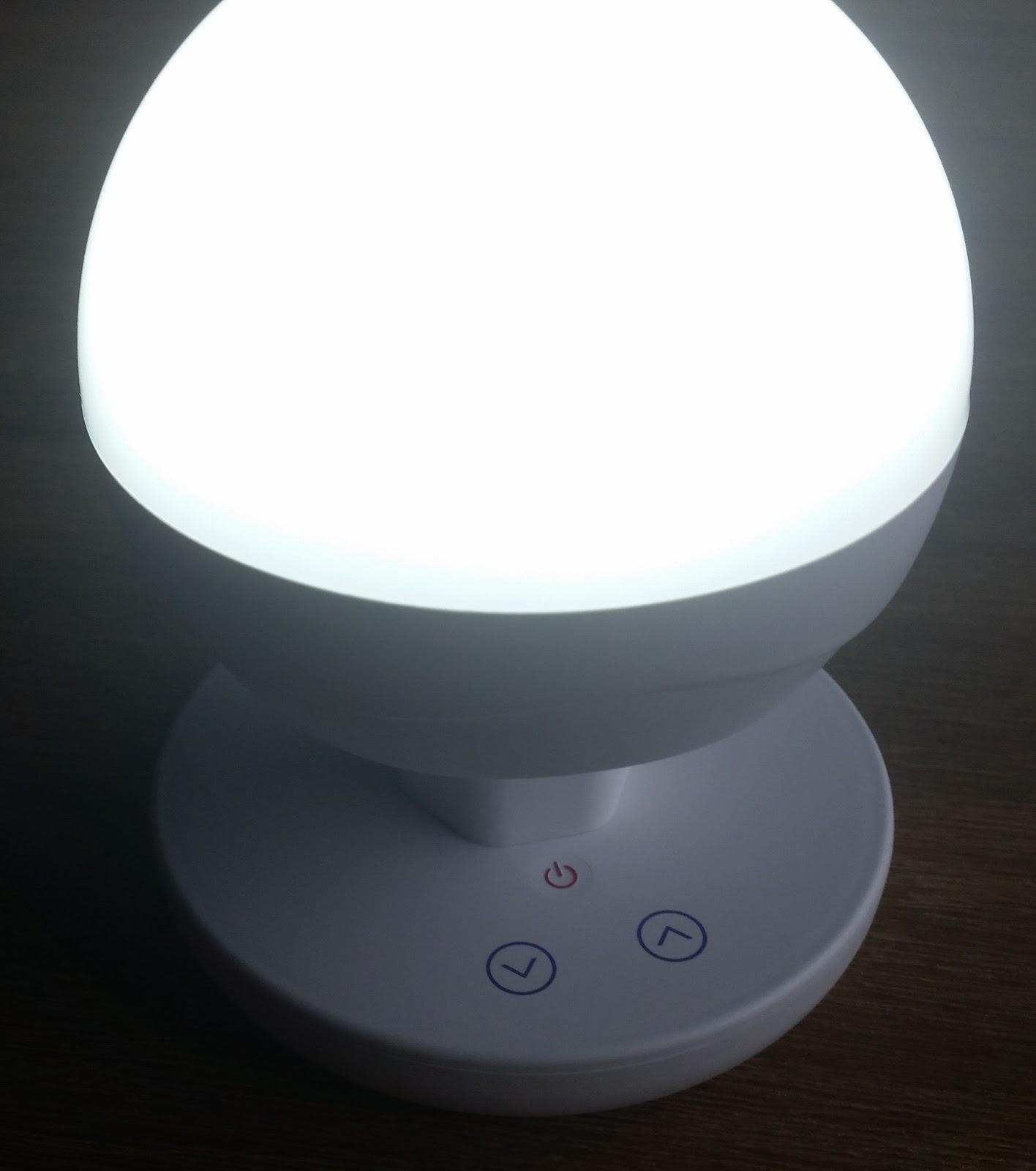 Der Tester: Leseleuchte dimmbar mit LED und Akku