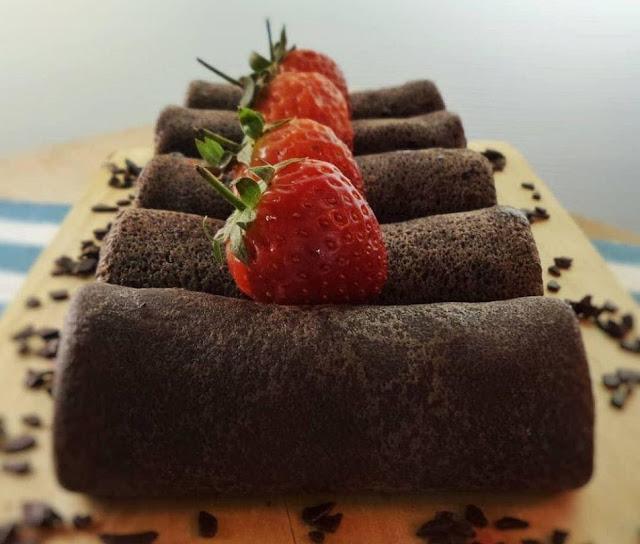 Dadar Gulung Coklat - Dailycook