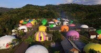 Objek Wisata Bukit Teletubbies Domes View Prambanan Yogyakarta Www Iphedia Com