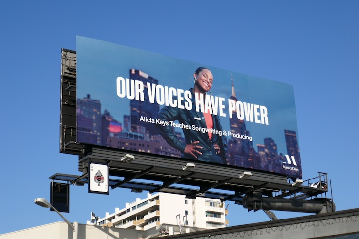 Alicia Keys MasterClass Our voices have power billboard