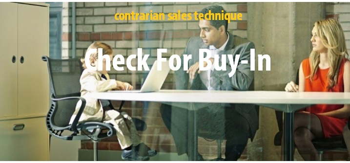Check for buy in when selling