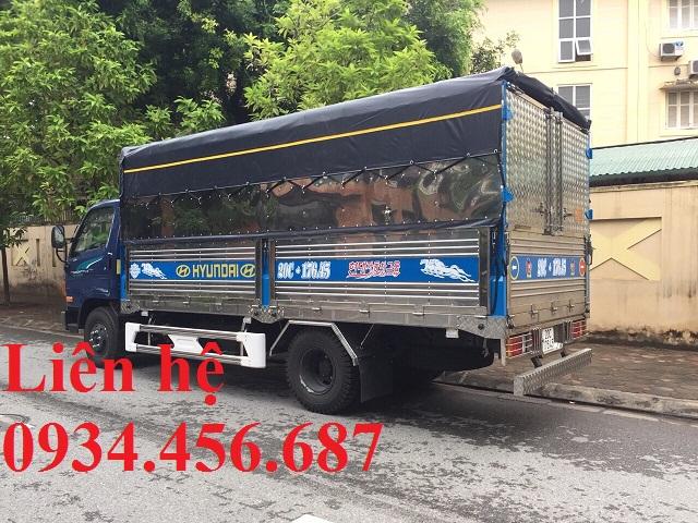 Đóng thùng xe tải Hyundai 110sp