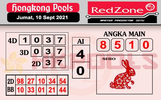 Syair HK Jumat 10 September 2021 -