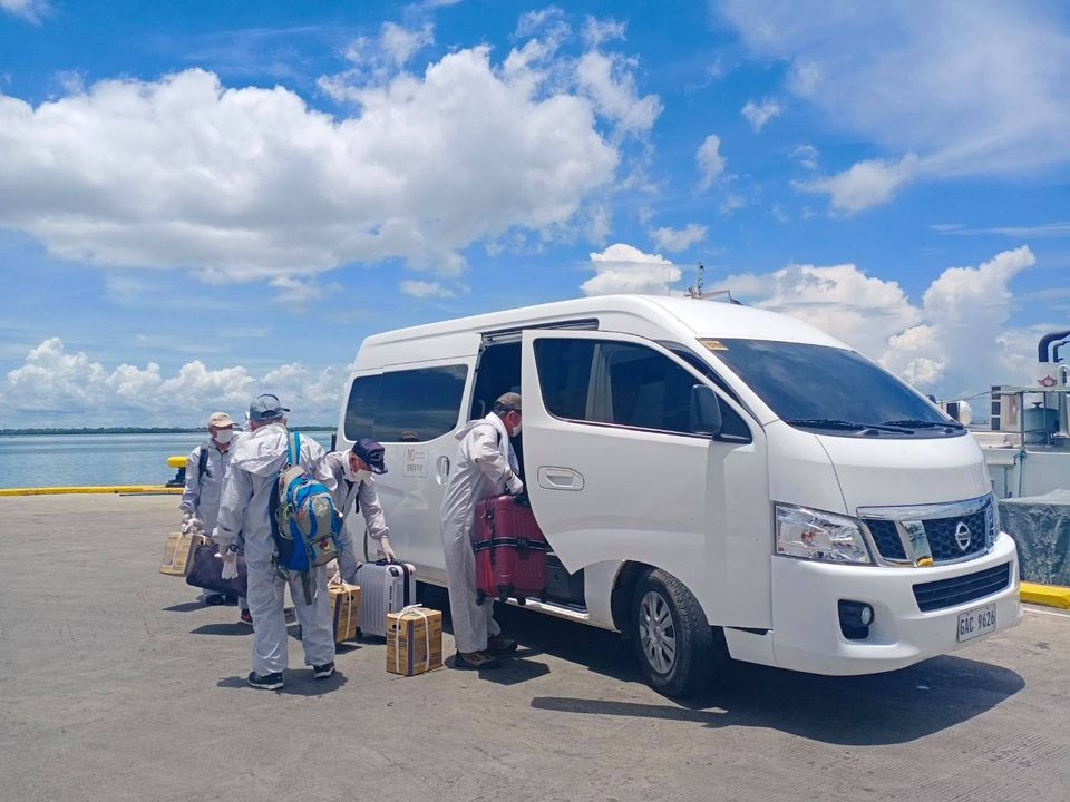 Cebu for crew change reported six (6) Filipino onsigners for MV PACIFIC ROSE