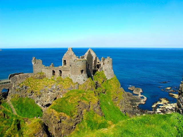Dunluce Castle, Irlandia Utara