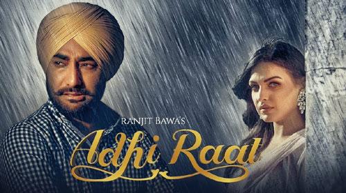 Adhi Raat Lyrics - Ranjit Bawa | Jassi X | Jassi Lokha