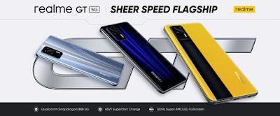 realme เปิดตัวสมาร์ทโฟนรุ่นเรือธงแห่งปีอย่าง realme GT 5G สู่สายตาคนรุ่นใหม่ทั่วโลก
