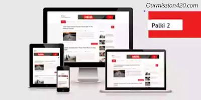 palki 2 free blogger template
