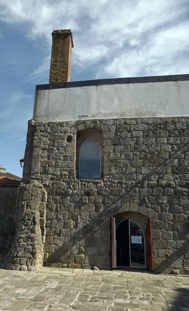 Fachada de casa medieval