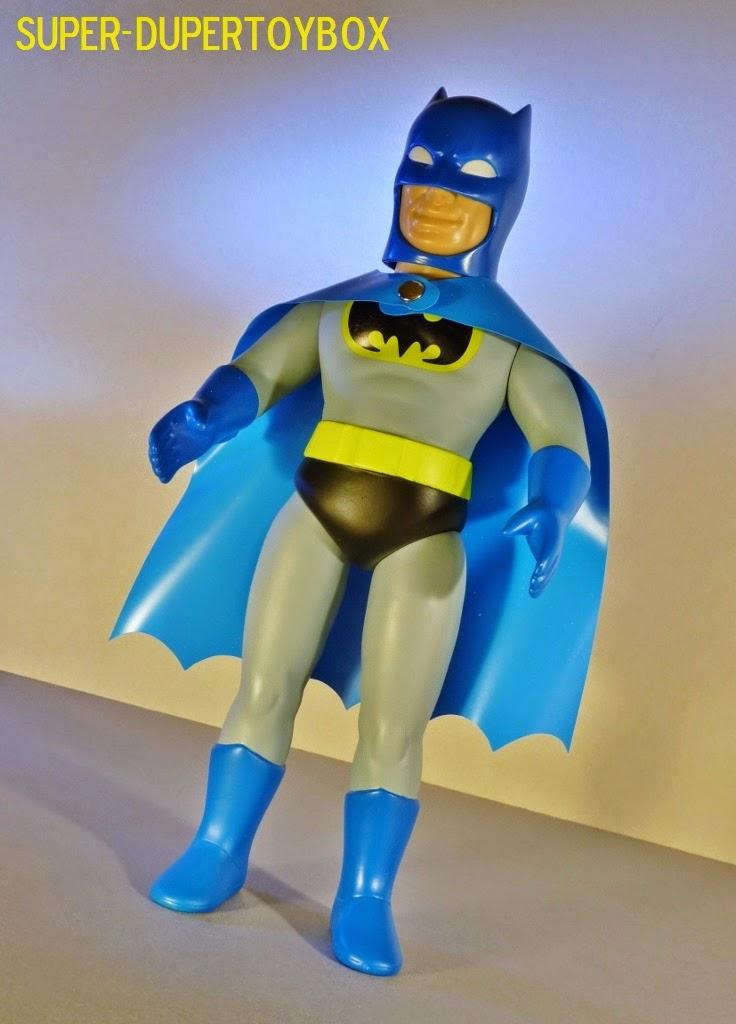 Sofubi: Super-DuperToyBox: Sofubi Vinyl Batman By Medicom