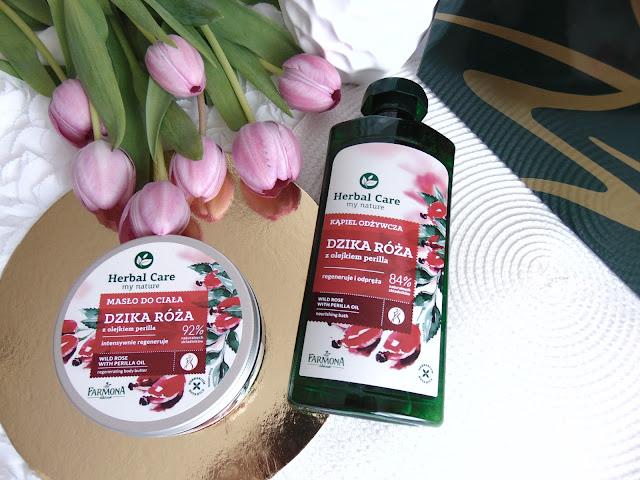 Dzika Róża w kosmetykach z linii Herbal Care od Farmona Laboratorium