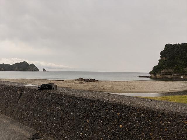 鵜原海水浴場の様子
