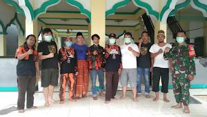 Menjelang Idul Fitri Pemuda Pancasila pasir gadung gelar Penyemprotan Disinfektan Tempat Ibadah