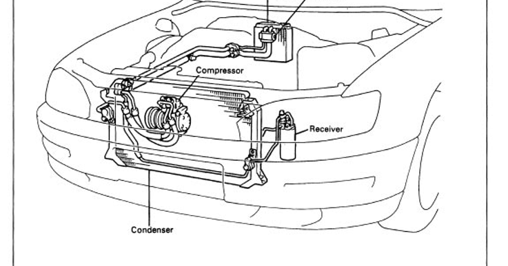TOYOTA CAMRY 1994 ELECTRICAL SERVICE REPAIR MANUALS