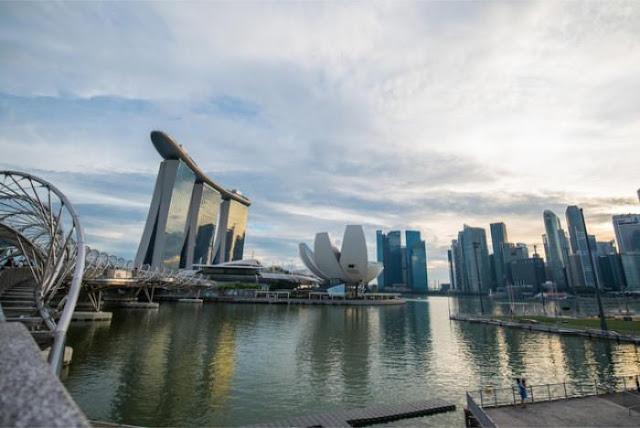 Một góc đảo quốc Singapore