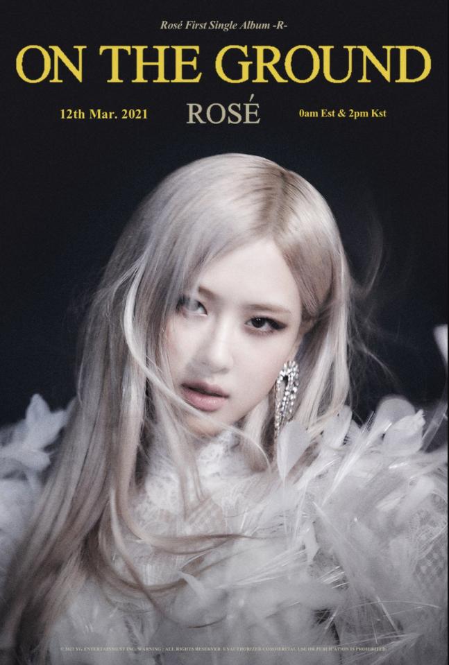 ROSÉ - 'On The Ground'