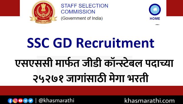 SSC GD REQUIRNMENT 2021