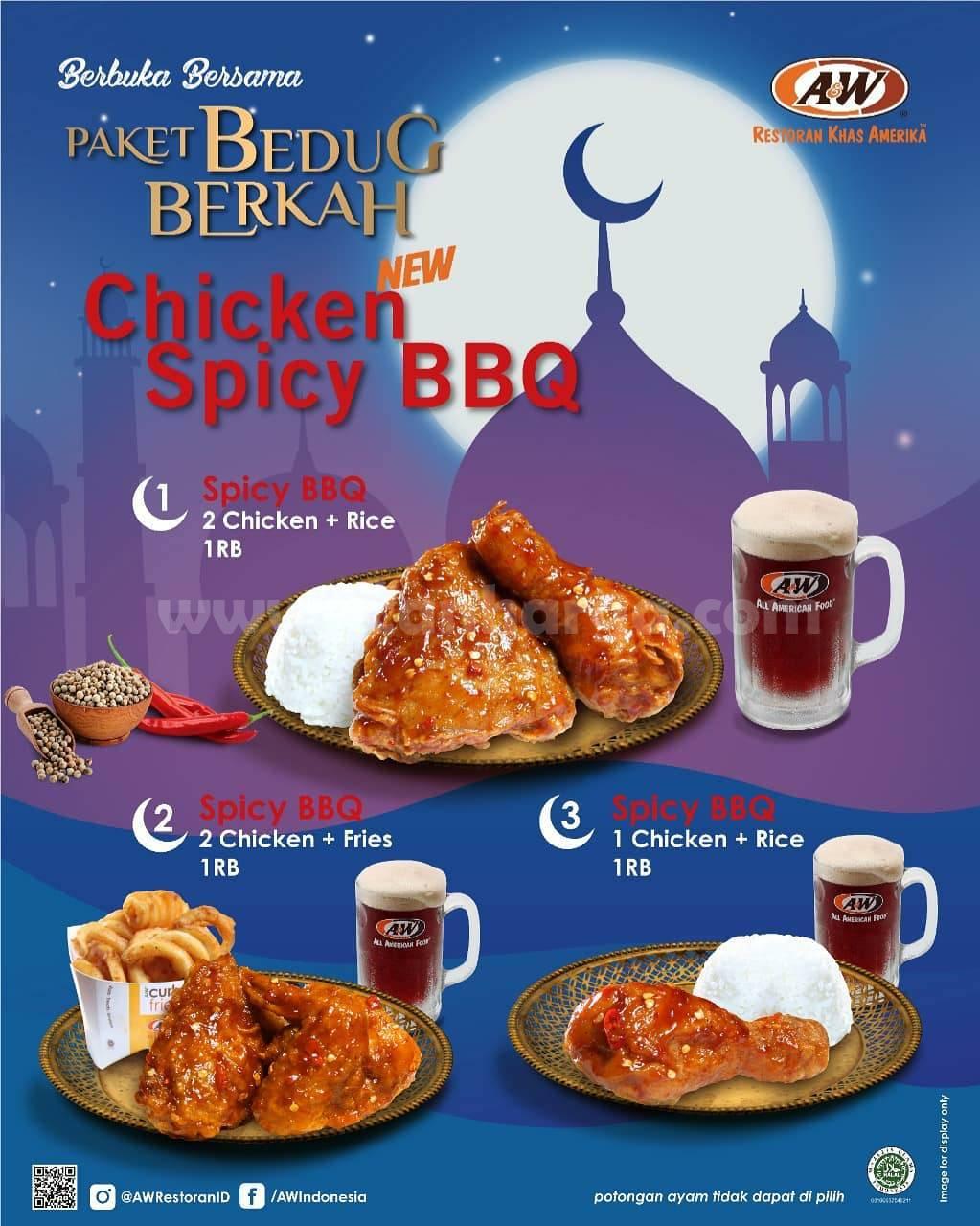 A&W Restaurants Promo Paket Bedug Berkah mulai dari 34Ribu