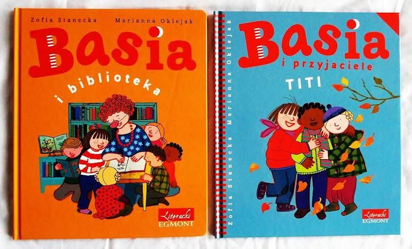 Basia i biblioteka, Basia i przyjaciele. Titi - Zofia Stanecka