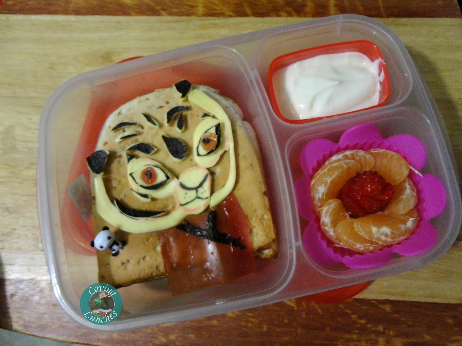 Loving Lunches: Kung Fu Panda Lunches of Awesomeness Tigress