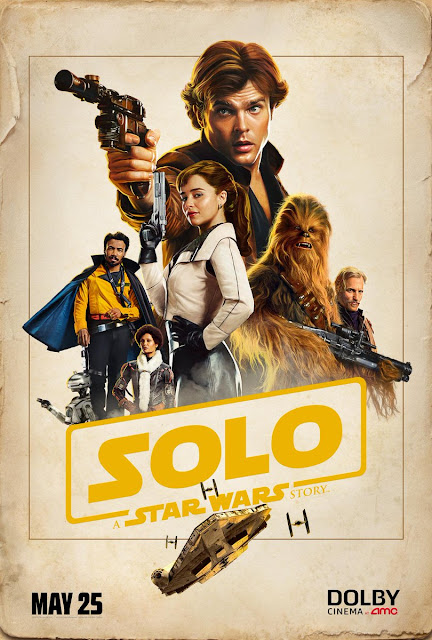 Solo: A Star Wars Story DOLBY Cinema Theatrical One Sheet Movie Poster