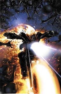 """Damnation: Johnny Blaze Ghost Rider"" el próximo cómic del Motorista Fantasma"