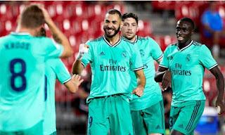 ريال مدريد يواصل الصداره والاقتراب من الدورى