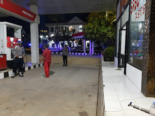 Personil Polsek Anggeraja Rutin Melaksanakan Patroli Blue Light Di Jam Rawan