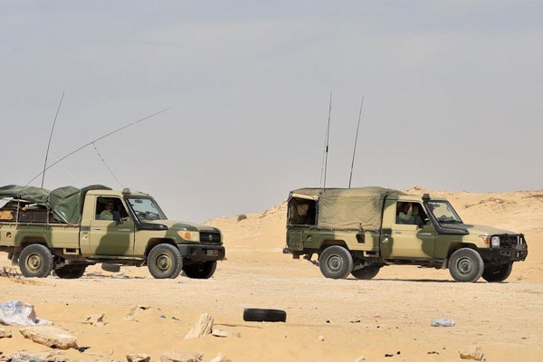 Marruecos envía a la zona de Amgala (norte del Sáhara Occidental) más tropas y tanques de guerra.
