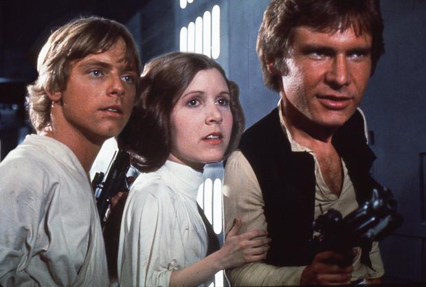 Star Wars: A new hope; Luke Skywalker, Leia Organa and Han Solo | Ximinia