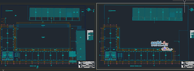 Expansion public school in AutoCAD