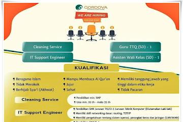 Loker Bandung Staff Karyawan Qordova