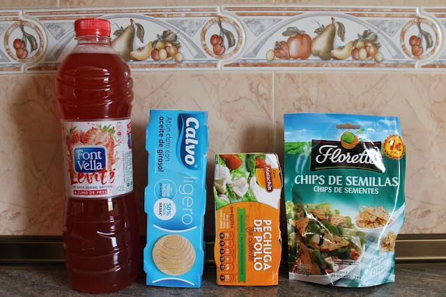 Caja Degustabox de comida