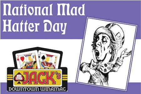 National Mad Hatter Day Wishes For Facebook