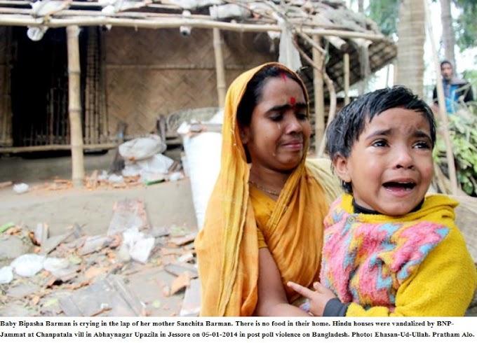 "Bangladeshi Hindu rights activist: ""Prime Minister Modi, please help your Hindu brethren!"""