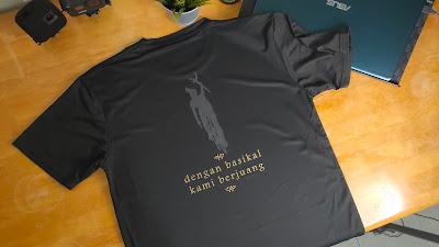 Tshirt Pahlawan Basikal