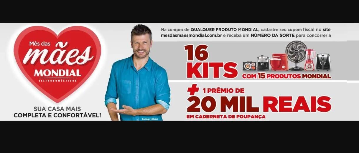 Promoção Mondial Dia das Mães 2020 Kits e 20 Mil Reais - Cadastrar Cupom