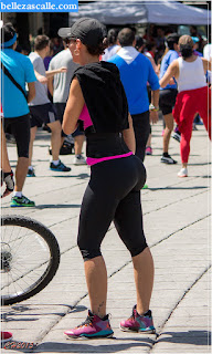 Mujer spandex cuerpazo
