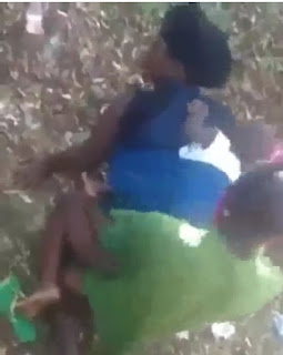 Video: A Nursing Mother Backing Her Baby Did This...... 2