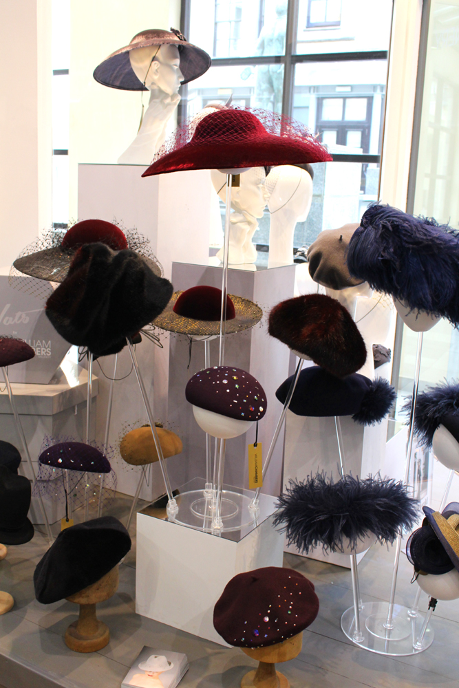 William Chambers hats - Glasgow city weekend break - UK travel, lifestyle and fashion blog