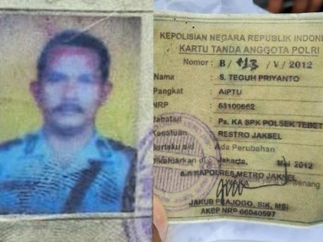 Sosok Aiptu Slamet Teguh Priyanto, Anggota Polsek Tebet Bunuh Diri Tembak Tenggorokan