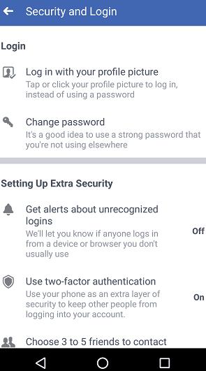 Cara Mengubah  Password Facebook,Ini Caranya 3