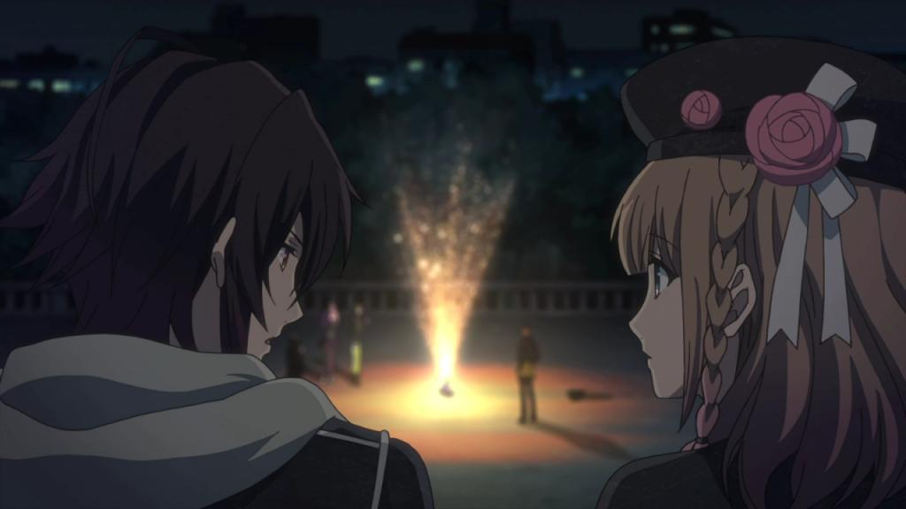 ANIME-COMICS: Anime Review: Amnesia Episode 4