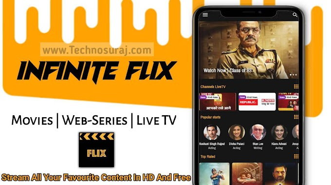 Infinite Flix Movie App