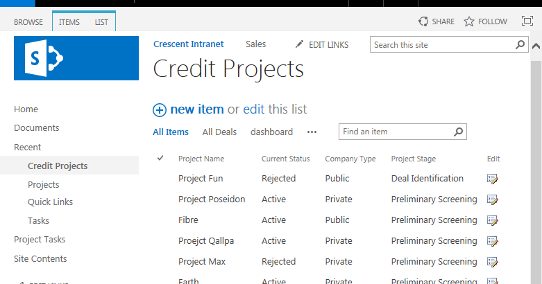 style sharepoint 2016 list view web part with custom css