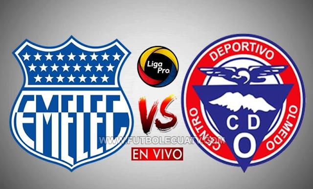 Emelec y Olmedo abren el telón de este compromiso por la fecha seis de la Serie A Ecuador, a efectuarse en el estadio George Capwell, desde las 19:00 horario local. Siendo transmitido por la señal de GolTV Ecuador, con arbitraje principal de Roberto Sanchez Rodriguez.