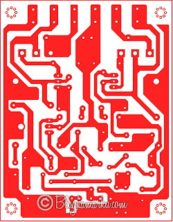 PCB Layout SOCL BOOM TEF Driver Power Amplifire