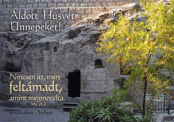 Húsvét vasárnapja – Online vasárnapi istentisztelet úrvacsorával - Sermon 2021. április 4.