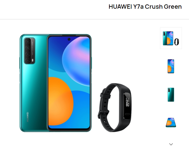 Huawei Y7a Offer Market Grand Opening in Egypt